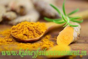 turmeric kidney disease treatment