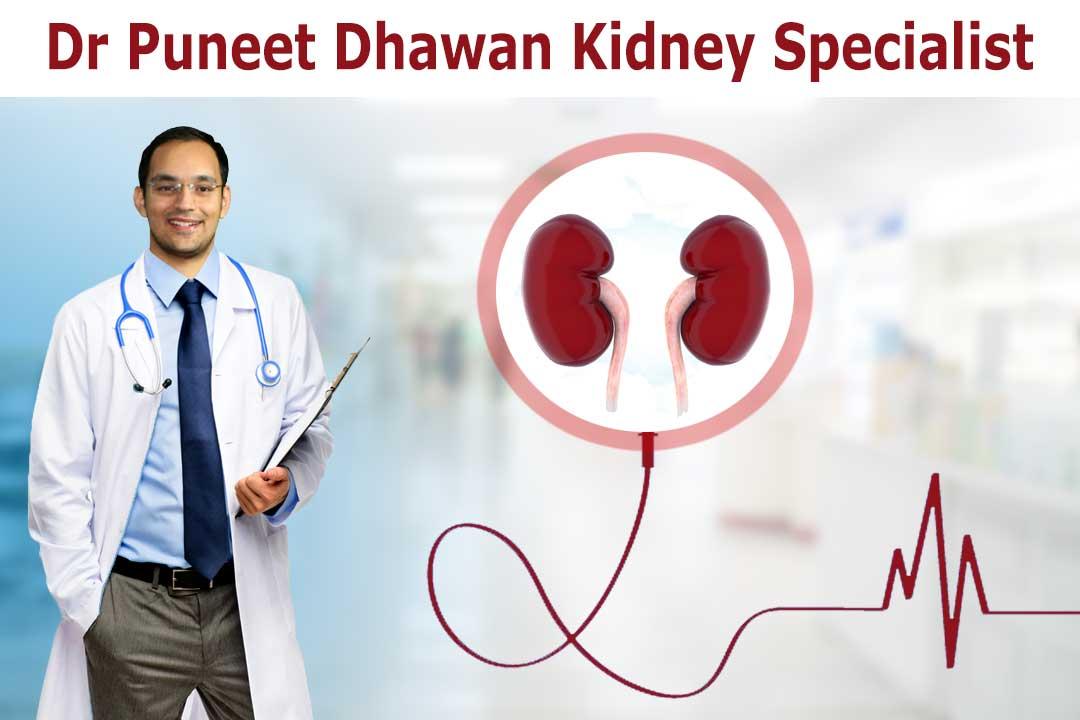 Dr. Puneet dhawan kidney specialist