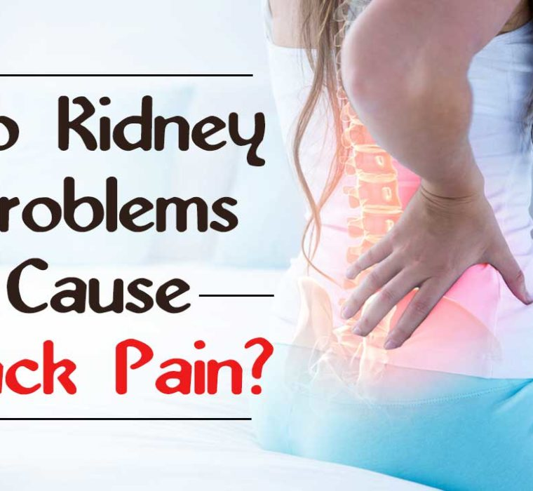 kidney problems cause back pain