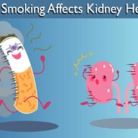 How smoking affects kidney health?